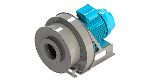 Data sheet for CB15 blower, Almeco