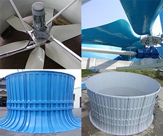 Fan impellers & casings, Almeco