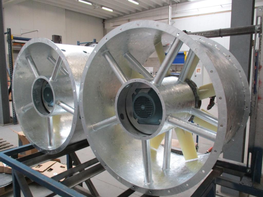 industrial fans potato