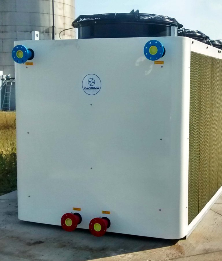 Adiabatic Fluid Cooler : Supplier of adiabatic cooling towers almeco