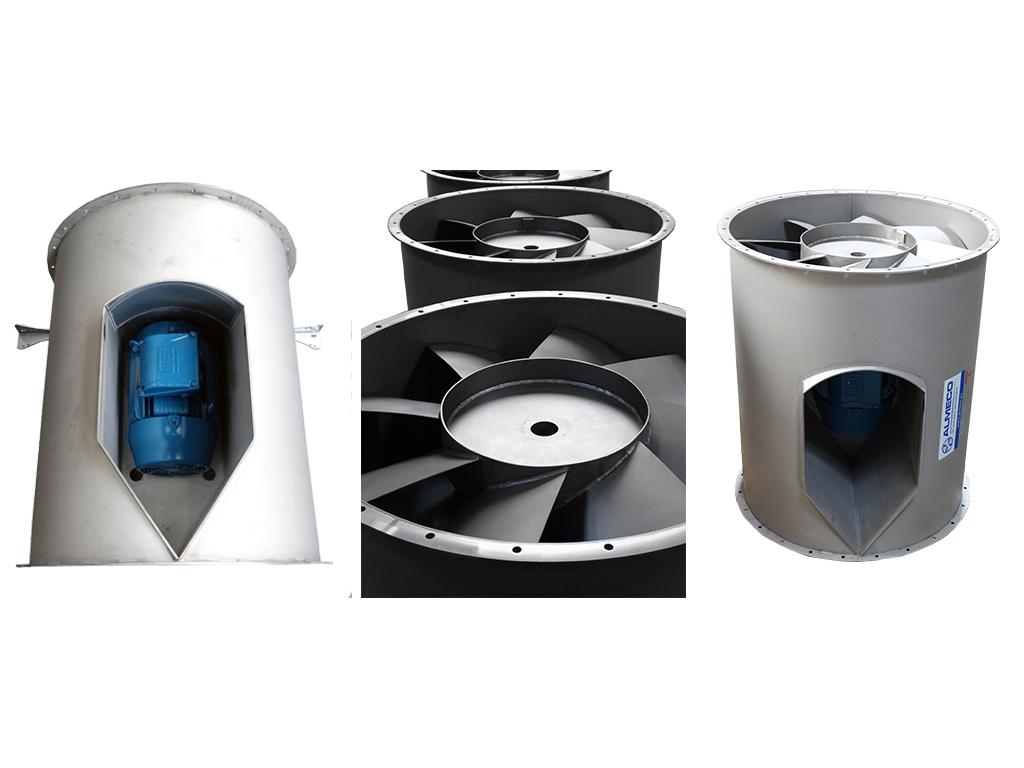 custom-built fans, Almeco