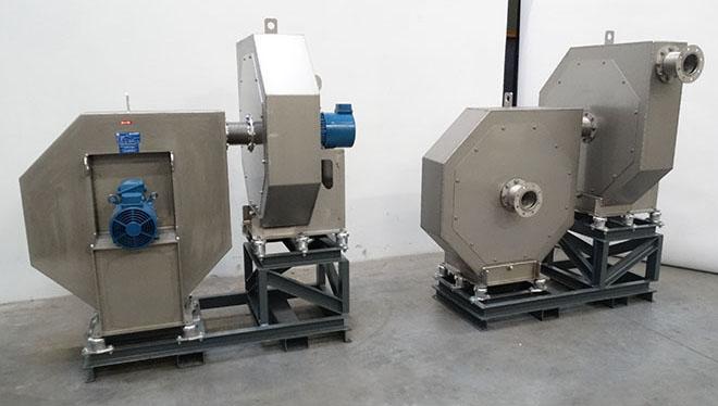 Almeco, industrial high pressure fans