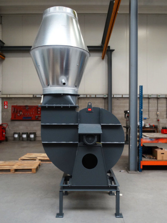 Almeco, roof fan for vapor extraction