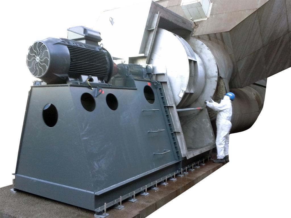 ventilateur centrifuge execution speciale