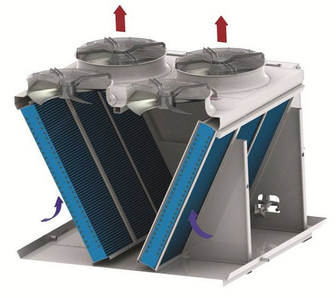 Dry Fluid Cooling Systems : Supplier of adiabatic cooling towers almeco