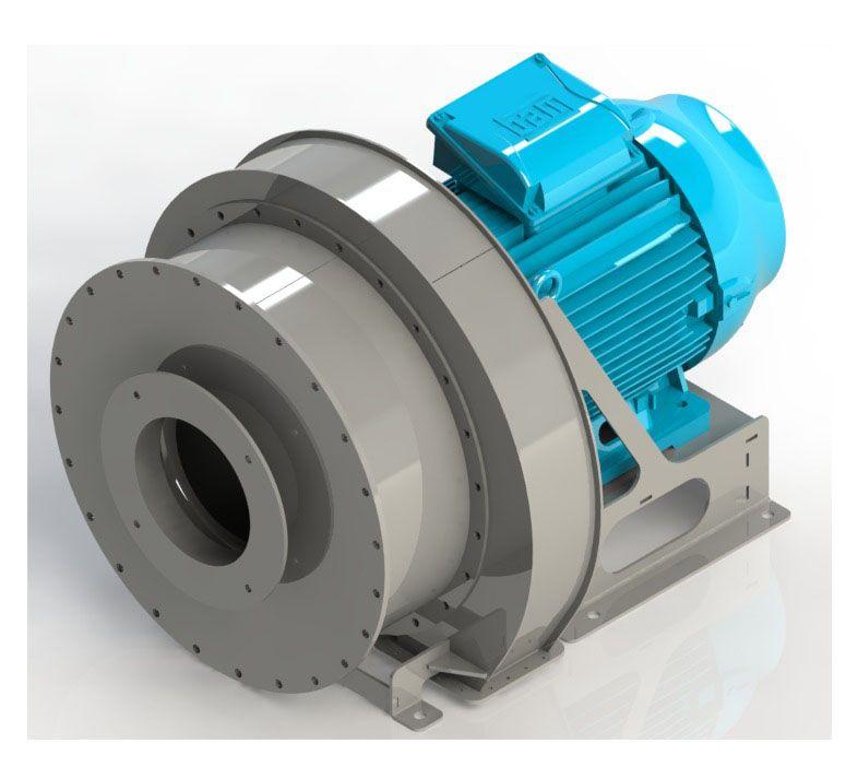 Engine Driven Centrifugal Blower : Blower cb direct driven centrifugal fan almeco