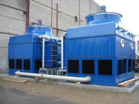 Closed cooling tower type AIR-C-PS, Almeco