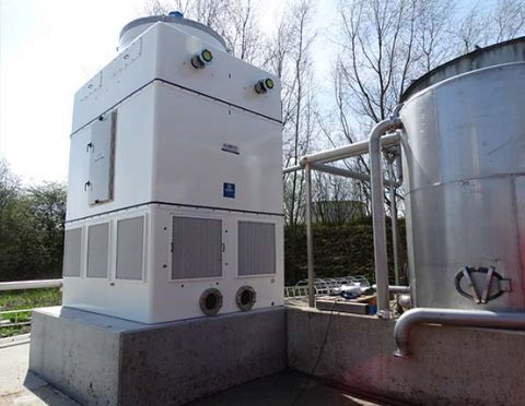 open cooling tower, AIR, Almeco