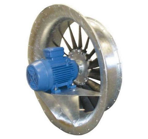 AVK, axial fan with short casing and inlet bell, Almeco