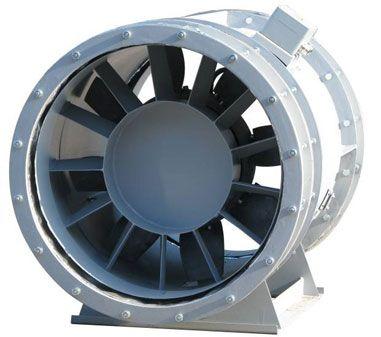 Ventilator voor rook- en warmteafvoer ODT AV/AVV, Almeco