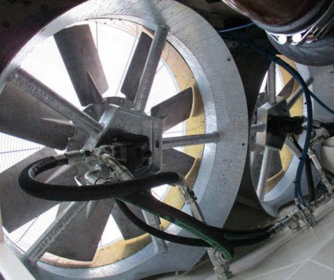 Almeco, axial fans with hydraulic drive