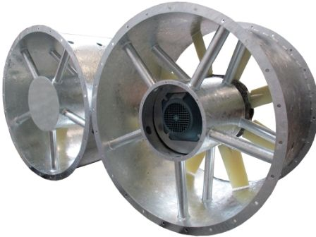 custom-built fans, Almeco