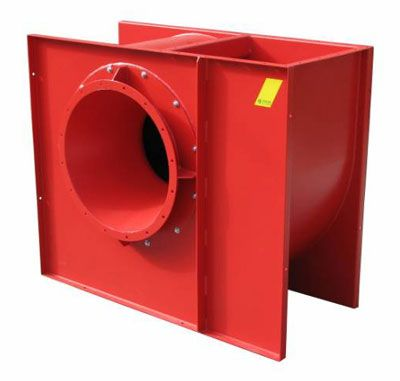 ODT CV, centrifugaleventilator voor rookafvoer, Almeco