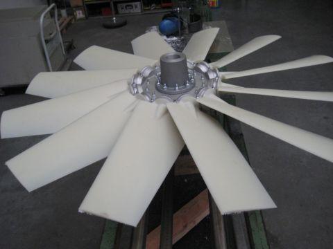 Ventilateurs avec pales en plastique, Almeco