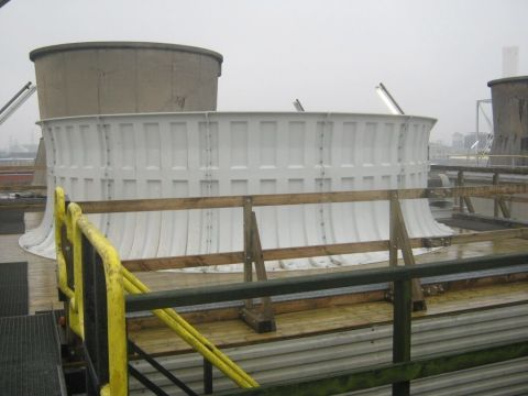 Cooling tower repairs, Almeco