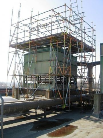 Maintenance of cooling towers, Almeco