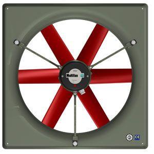 ventilateur avec cadre
