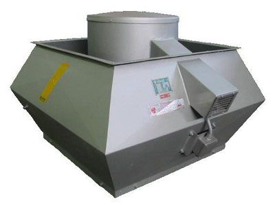 ODT SVK, roof smoke & heat extract fans, Almeco