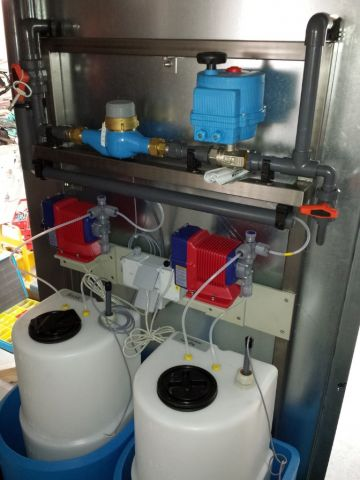 Waterbehandeling voor koeltorens, Almeco