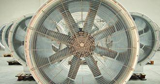 Axial fans, Almeco