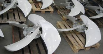 Axial impellers, Almeco