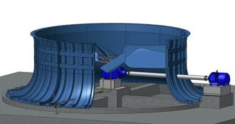 gear cooling tower