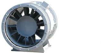 Axial smoke extract fan, ADT AV/AVV, Almeco
