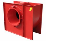 ODT CV, centrifugal fan for smoke extraction, Almeco
