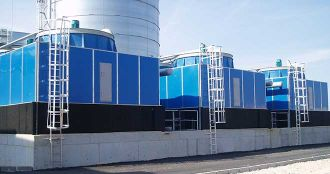 Large cooling towers on demand, AIG-R, Almeco