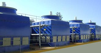 Closed cooling tower type AIR-C-TG, Almeco