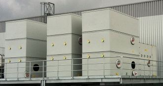 Closed cooling tower type CFR-C-TG, Almeco