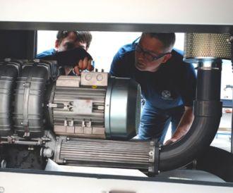 Maintenance drying system