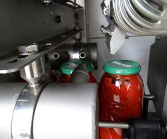 Drying glass jars