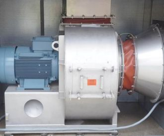 centrifugal fan fume extraction