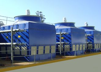 Data sheet of closed cooling tower type AIR-C-TG, Almeco