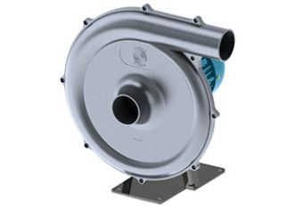 Data sheet of aluminium centrifugal fan, AMR26, Almeco