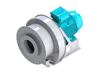 Data sheet for CB12 blower, Almeco
