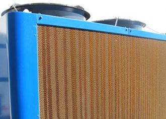 Adiabatic closed cooler type AIR A